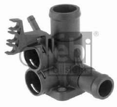 Cooling-water flange for cylinder head front 037 121 132E